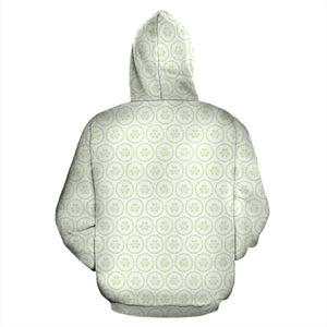 Cucumber pattern background Pullover Hoodie