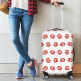 Daruma Japanese Wooden Doll Pattern Luggage Covers
