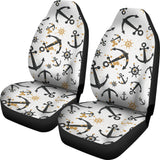 Anchors Rudders pattern  Universal Fit Car Seat Covers