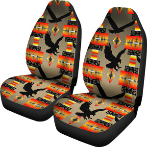 Seven Tribes Eagle Tan Car Seat Covers