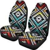 Taos Sunrise Set of 2 Car Seat Covers