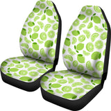 Lime Design Pattern Universal Fit Car Seat Covers