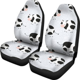 Cute Cows Pattern Universal Fit Car Seat Covers