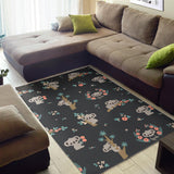 Cute Koala Pattern Area Rug