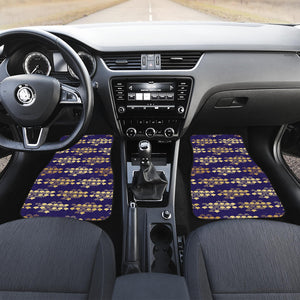 Beautiful Japanese Fan Pattern Front Car Mats