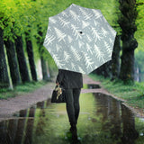 Christmas Tree Winter Forest Pattern Umbrella
