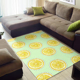 Slice Of Lemon Pattern Area Rug