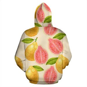 Beautiful guava pattern Pullover Hoodie