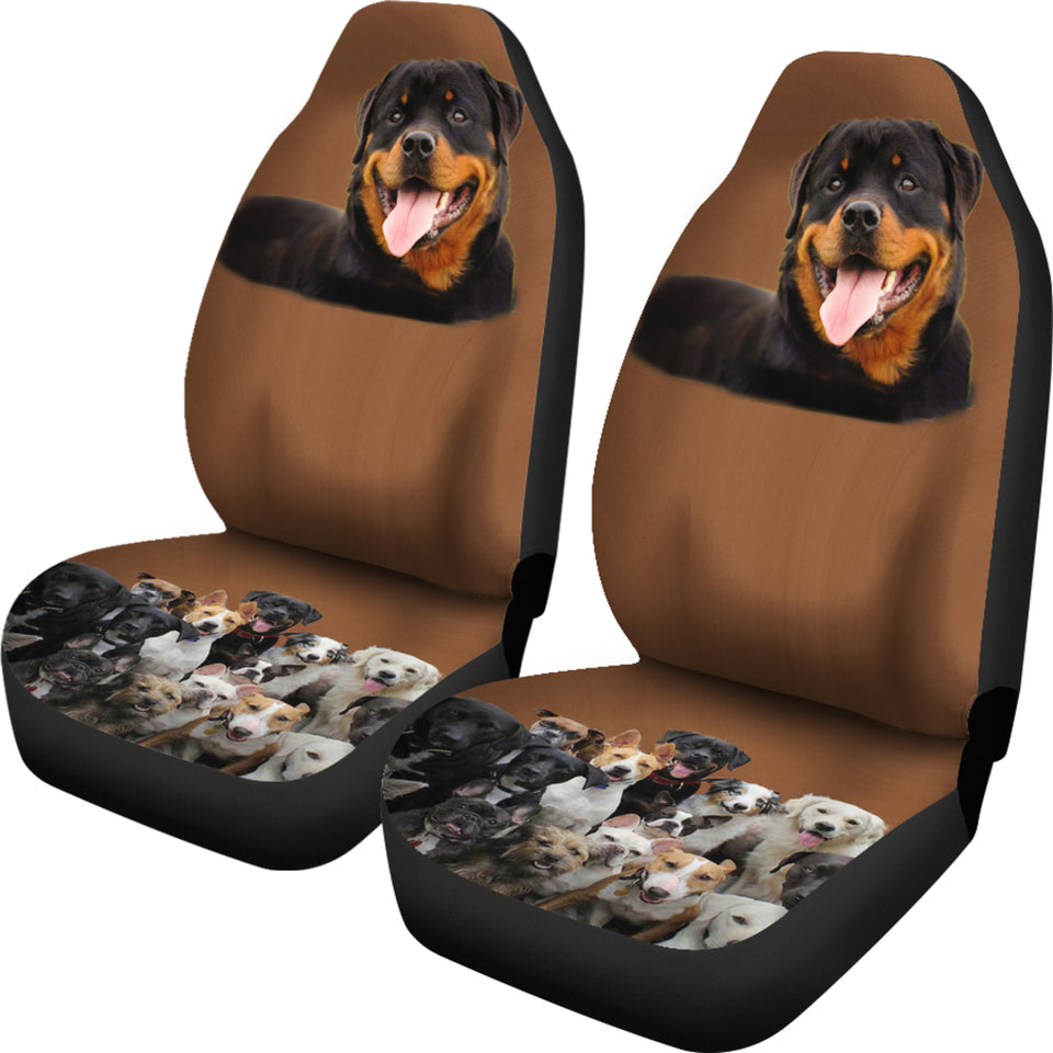 Rotts Friends Car Seat Cover
