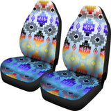 Seven Tribes Turquoise Horizon Car Seat Covers
