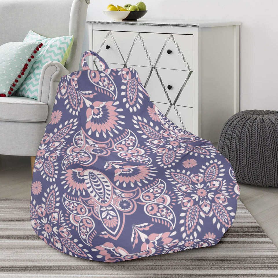 Indian Batik Style pattern Bean Bag Chair