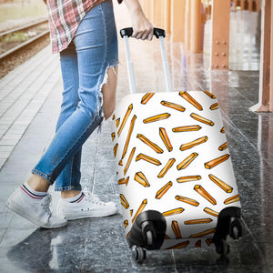 French fries potato pattern Luggage Covers