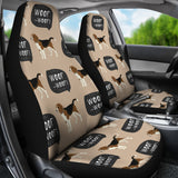 Beagle pattern  Universal Fit Car Seat Covers
