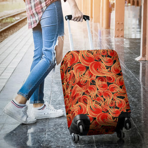 Fire flame pattern Luggage Covers