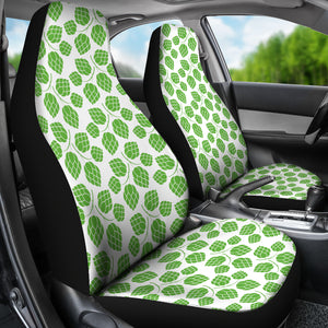 Hop Pattern Background Universal Fit Car Seat Covers