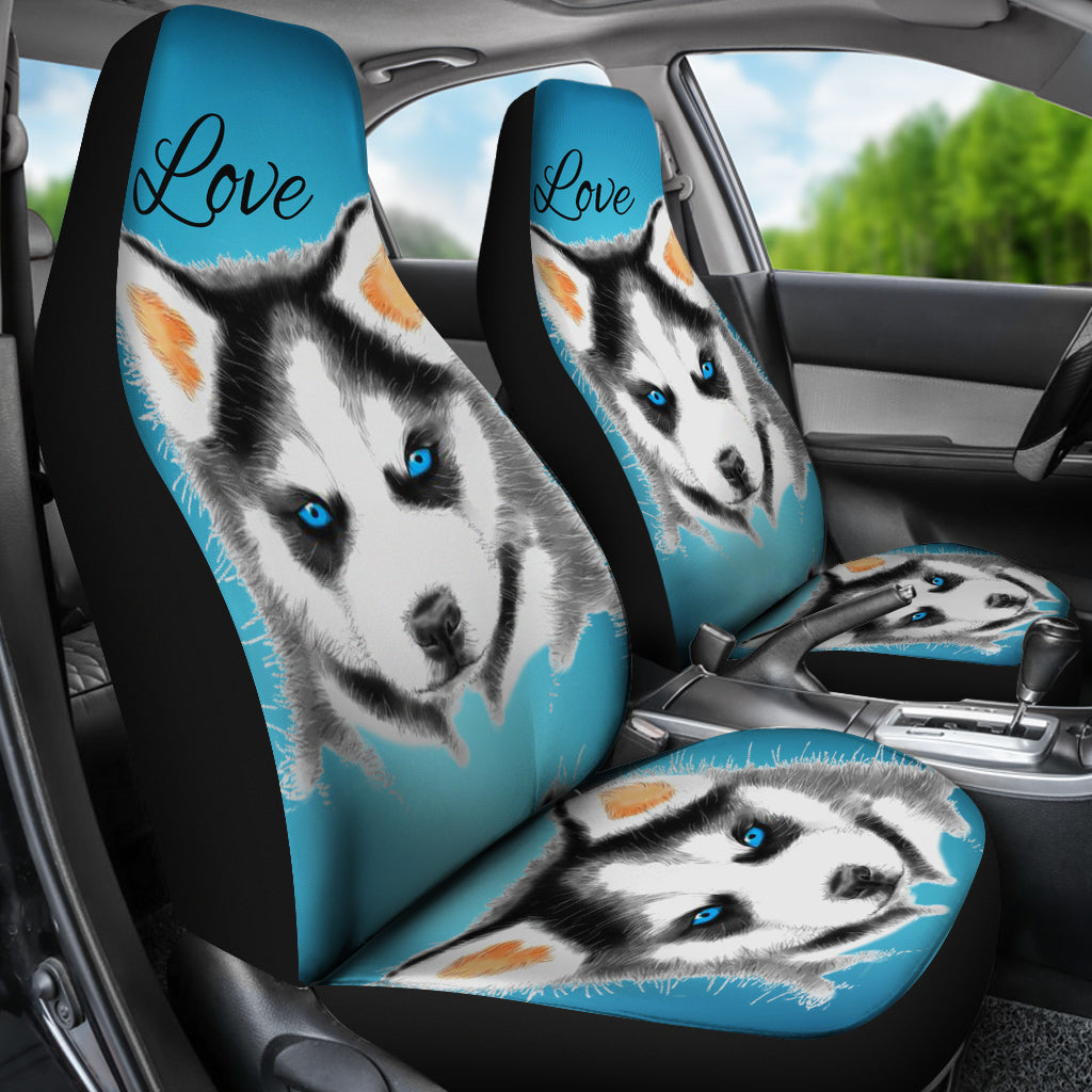 Puppy Love Car Seat Covers