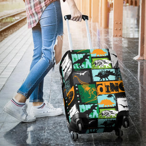 dinosaurs print pattern Luggage Covers