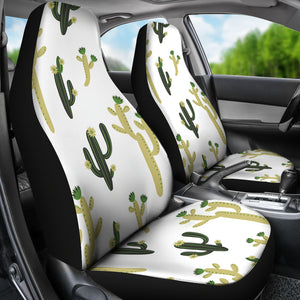 Cute Cactus Pattern  Universal Fit Car Seat Covers