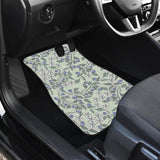 Hand Drawn Blueberry Pattern  Front Car Matshand Drawn Blueberry Pattern  Front Car Mats