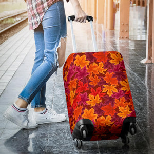 Autumn Maple Leaf Pattern Luggage Covers