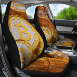 Bitcoin Car Seat Covers