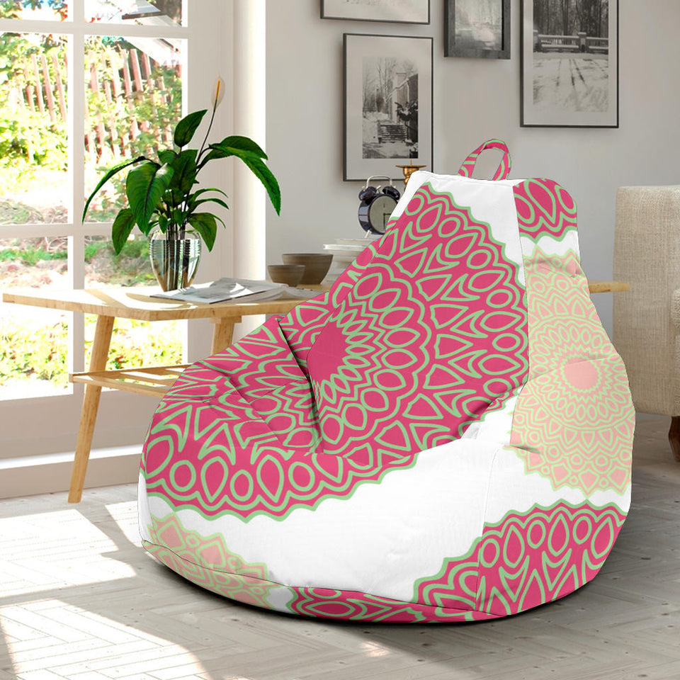 Circle indian pattern Bean Bag Chair