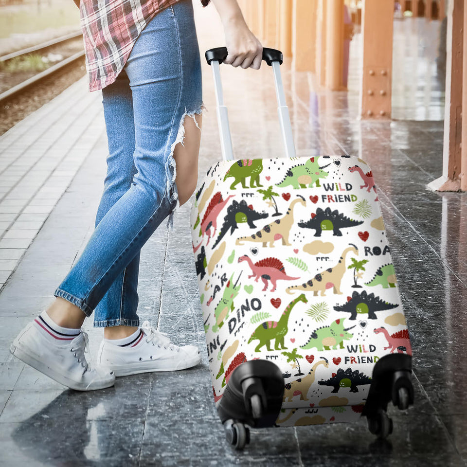 Cute dinosaurs pattern Luggage Covers