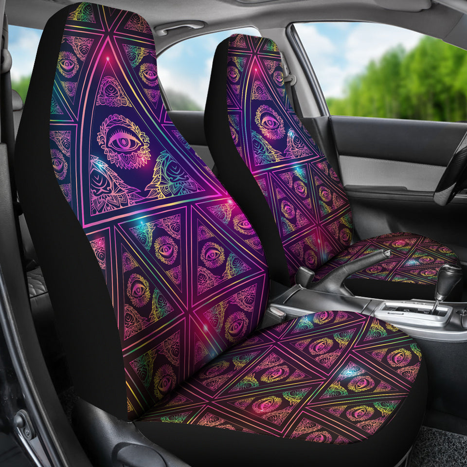 Eye Of Providence - Car Seat Covers