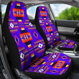 Seven Tribes Blue Car Seat Covers