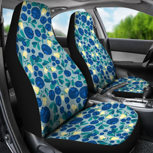 Blueberry Design Pattern  Universal Fit Car Seat Covers