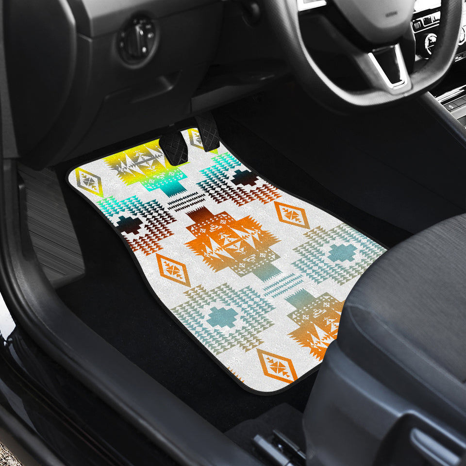 Canyon Frost Front Car Mats (Set Of 2)