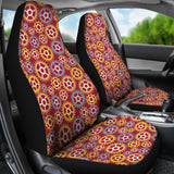 Gear Pattern Print Design 04 Universal Fit Car Seat Covers