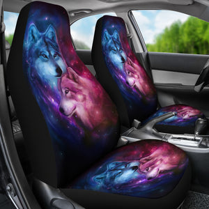 Wolf Spirit Car Seat Covers