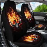 Dj Skull Car Seat Covers