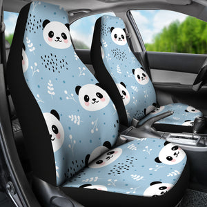 Cute Panda Pattern Universal Fit Car Seat Covers