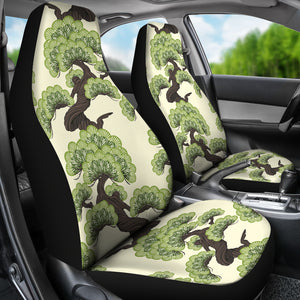 Bonsai Pattern Universal Fit Car Seat Covers