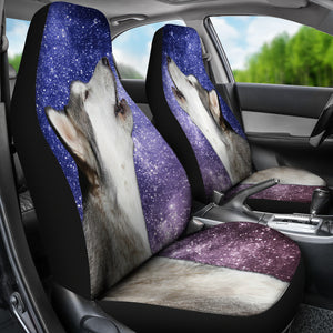 Howling Malamute Car Seat Covers