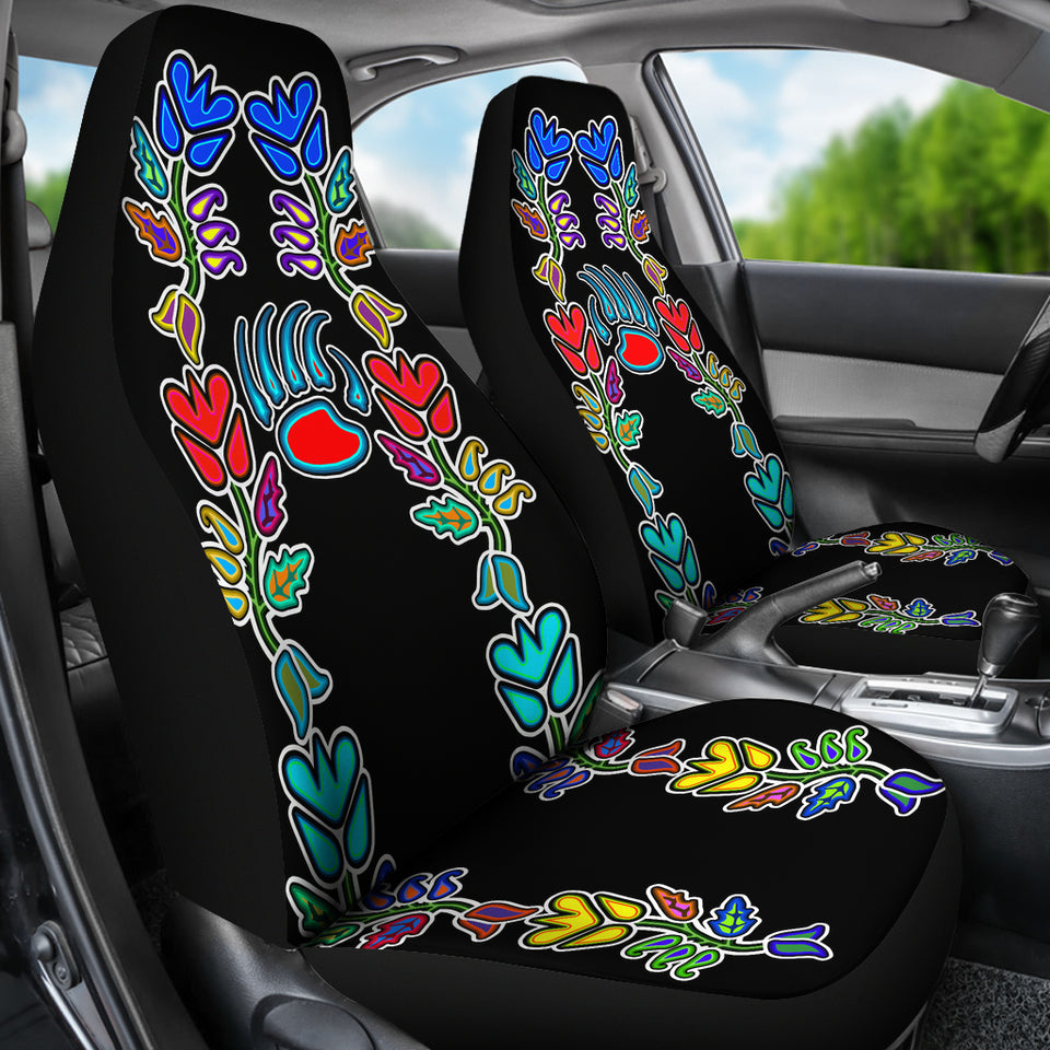 Generations Floral With Bearpaw Car Seat Covers