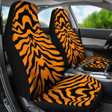 Bengal Tigers Skin Print Pattern Universal Fit Car Seat Covers