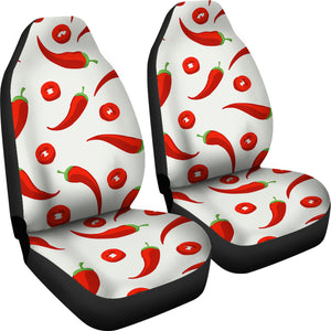 Chili Pattern  Universal Fit Car Seat Covers