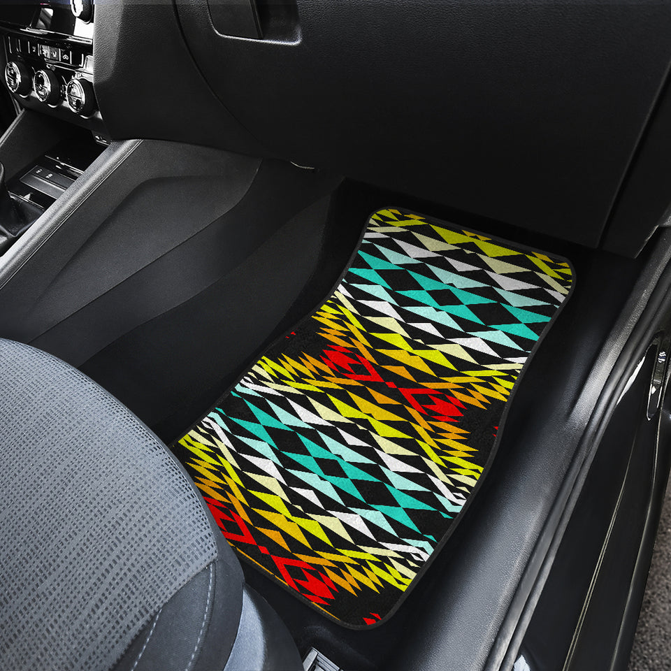 Taos Fire Front Car Mats (Set Of 2)