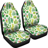 Cactus Pattern  Universal Fit Car Seat Covers
