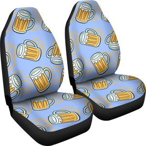 Beer Pattern  Universal Fit Car Seat Covers