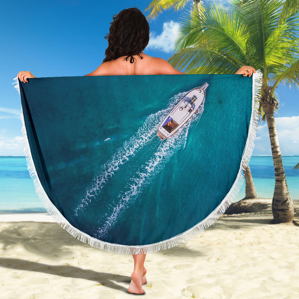 Beach Blanket-Boat Type2 ccnc006 bt0213