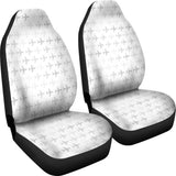 Airplane print pattern  Universal Fit Car Seat Covers