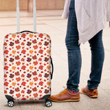 Colorful Maple Leaf Pattern Luggage Covers
