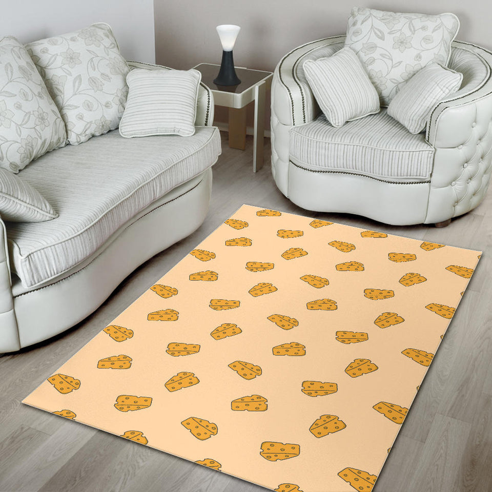 Cheese Pattern Area Rug
