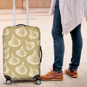 Garlic Design Pattern Luggage Covers