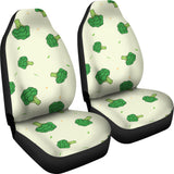 Broccoli Pattern  Universal Fit Car Seat Covers