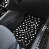 Paw Prints Front Car Mats